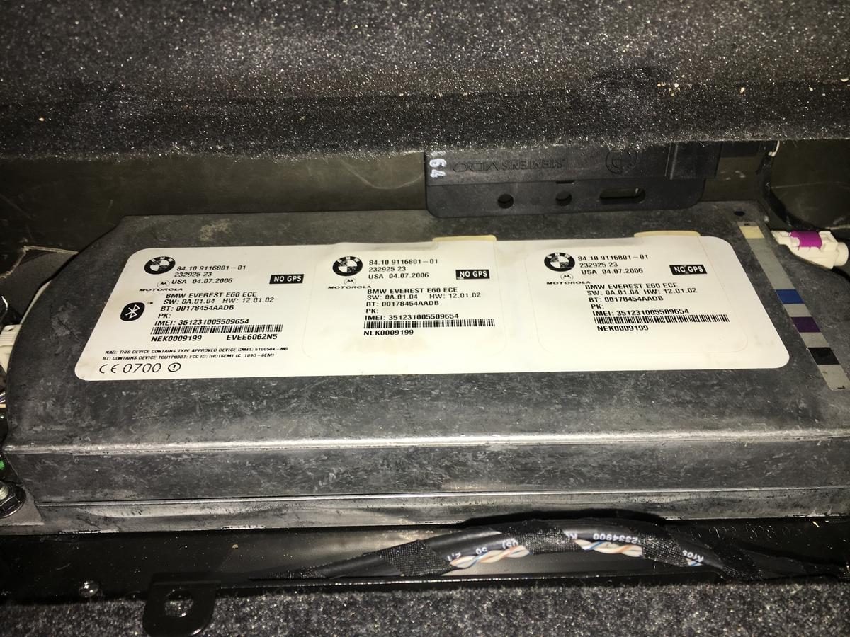 Блутот модул бмв Е60 Е61   bluetooth 84.10 91168 01-01