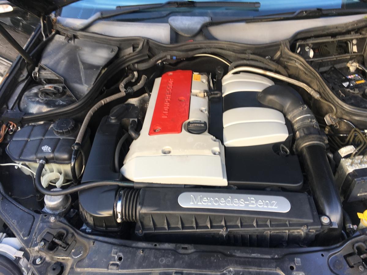 Двигател м111 2.0 компресор 163к.с. мерцедес в203