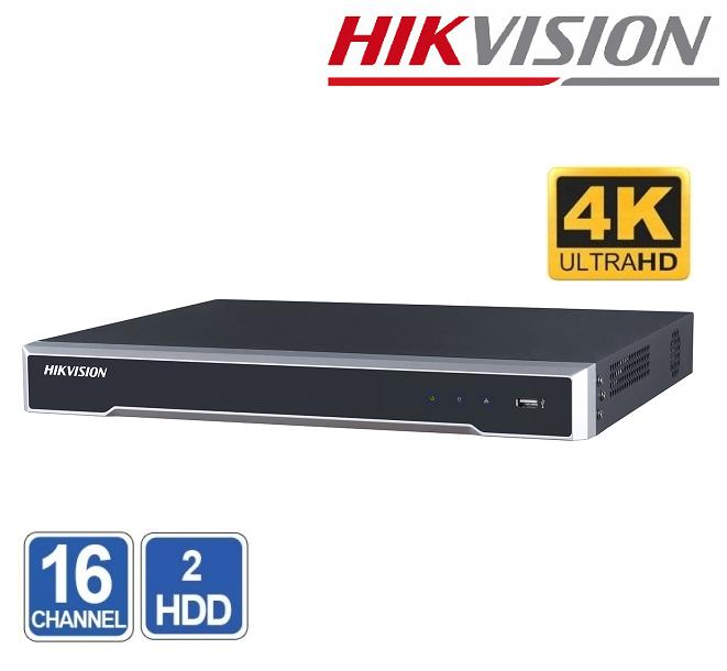 NVR 16 CHANEL HIKVISION DS-7616NI-K2 8MP