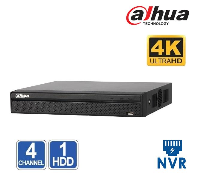 NVR 4 CHANEL Dahua NVR4104HS-4KS2 4K 8MP