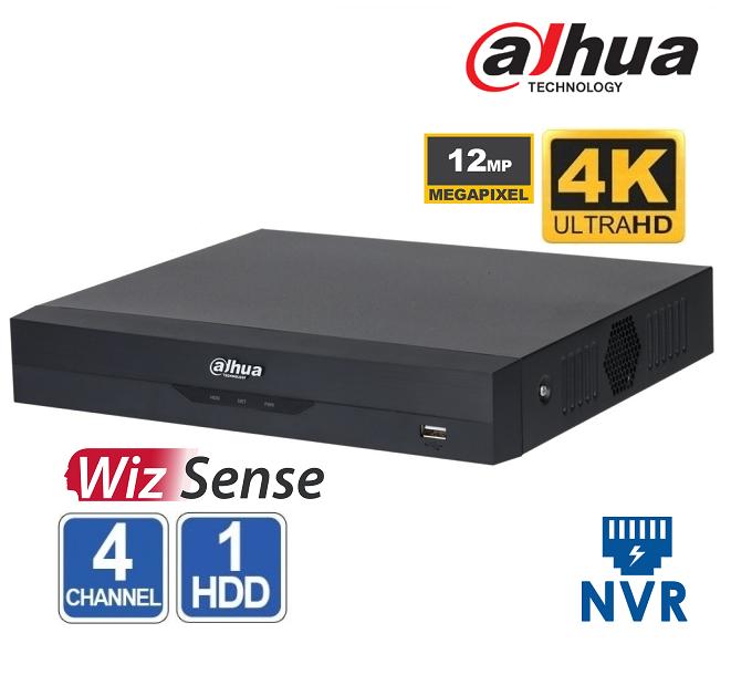 NVR 4 CHANEL Dahua NVR2104HS-I  4K -12Mpx