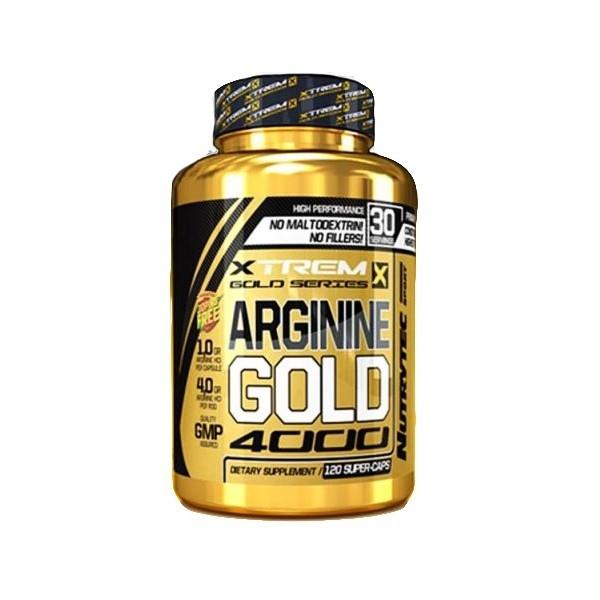 ARGININE GOLD / АРГИНИН ГОЛД (120 капсули)
