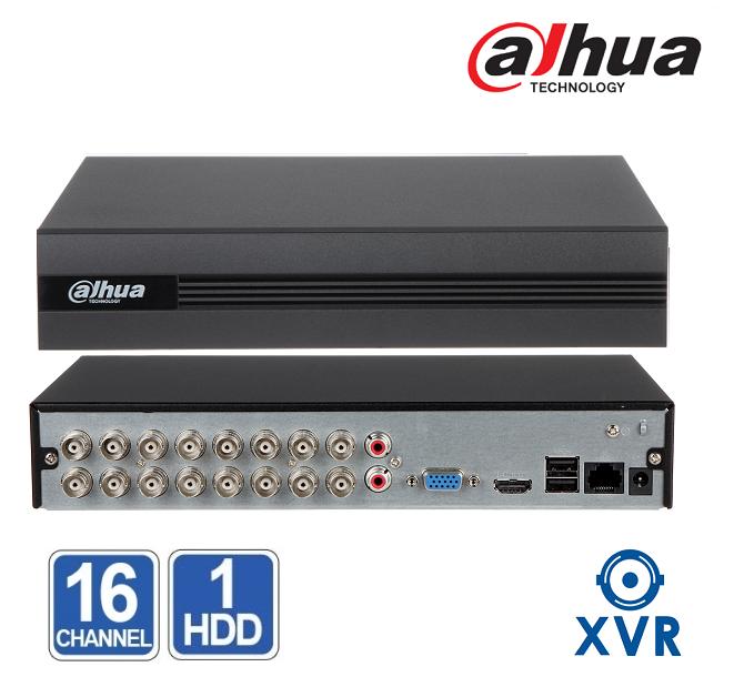 XVR 16 CHANEL Dahua XVR1B16 / Penta-brid - AHD / TVI / CVI / IP камери