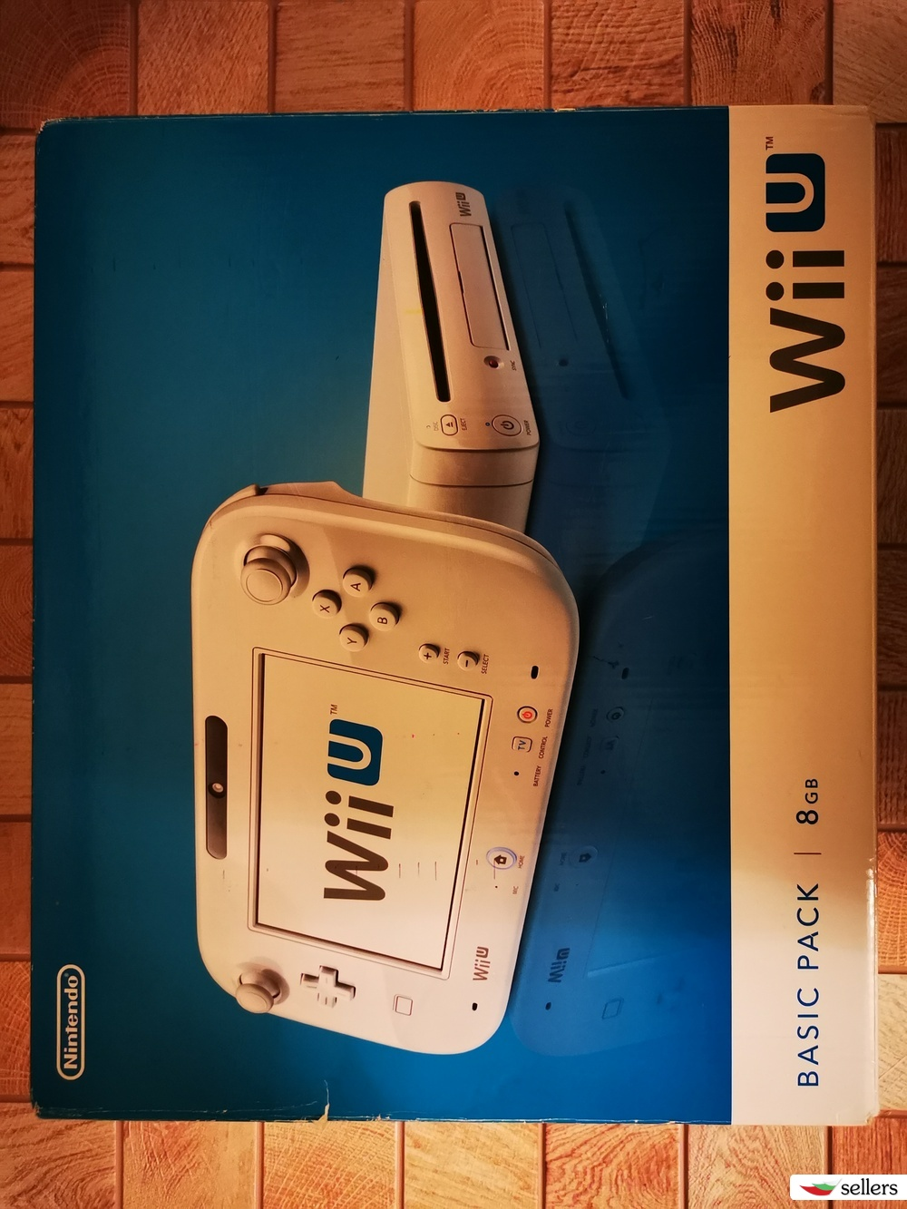 Nintendo Wii U основен пакет 8GB памет.