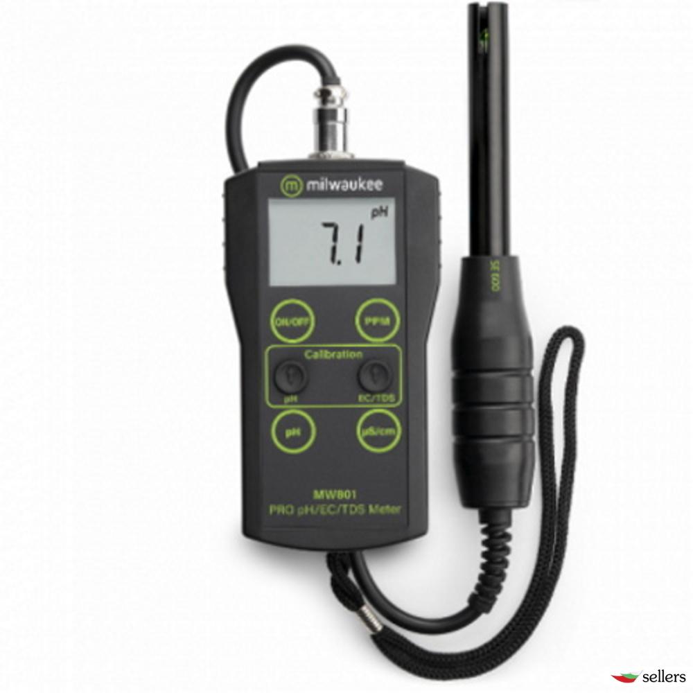 MW801, Комбиниран pH/ЕС/TDS-Метър