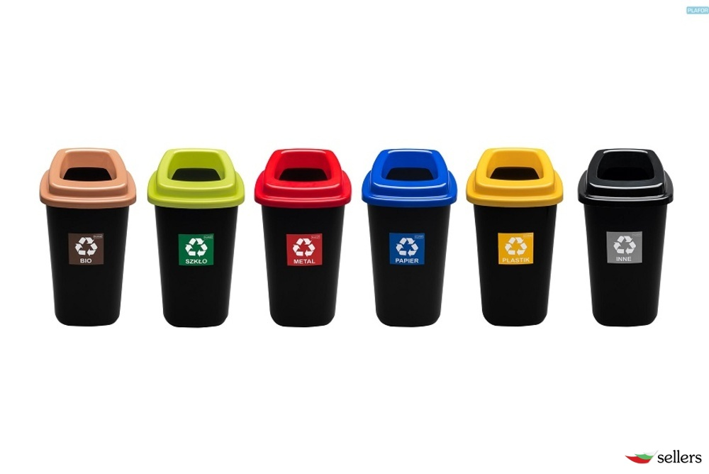 Кошчета , четки , пепелници , контейнери за боклук , кошове за разделно сметосъбиране , сакодържатели , кошчета за хартия , чували и торби за смет