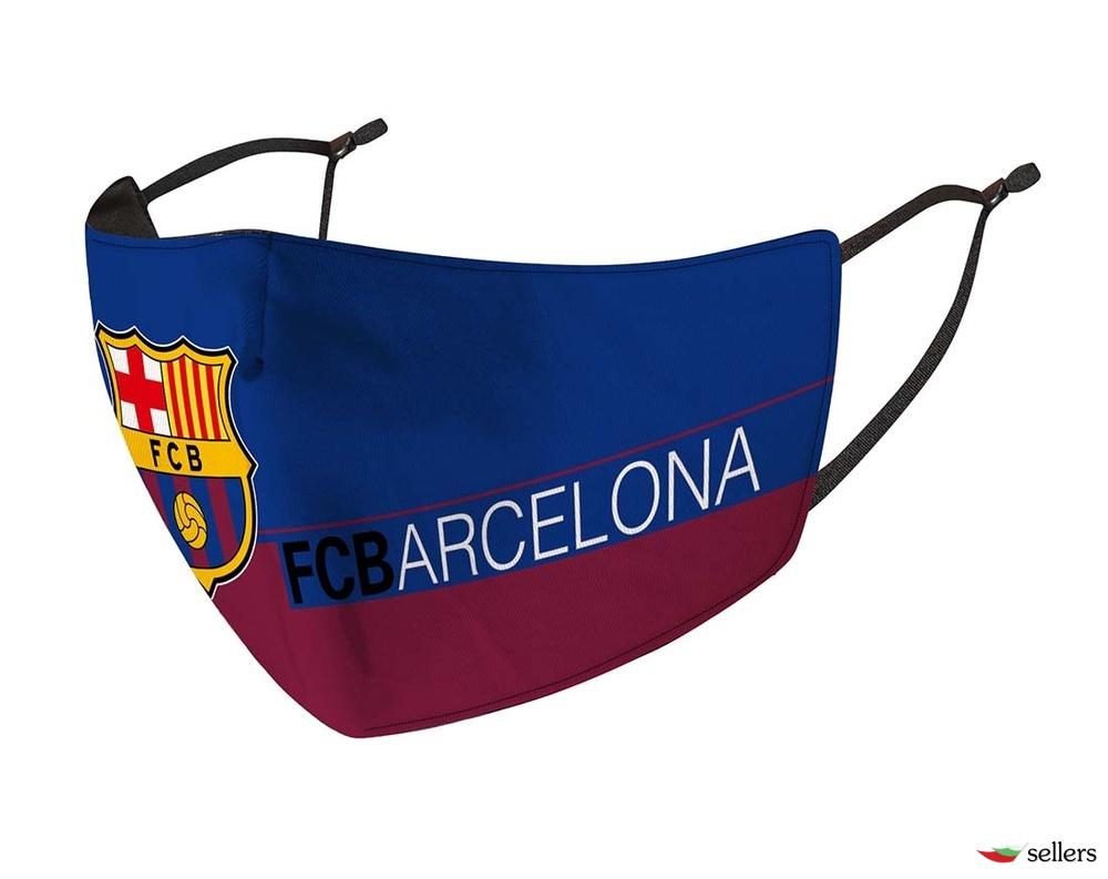 Предпазна маска за многократна употреба на Барселона.
