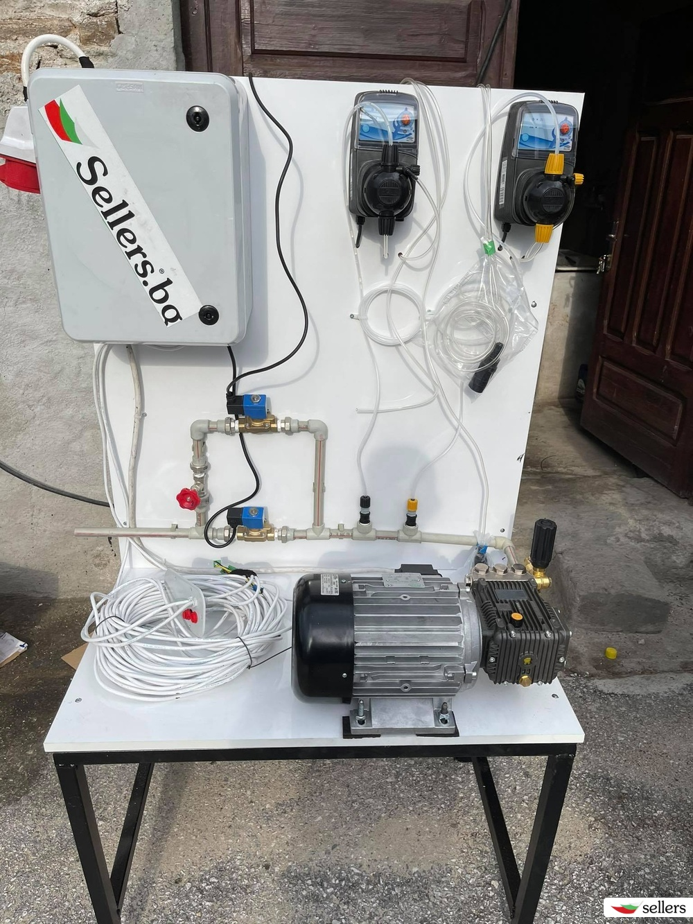 Оборудване за Автомивка на самообслужване с 4 операции мотор помпа дозираща помпа