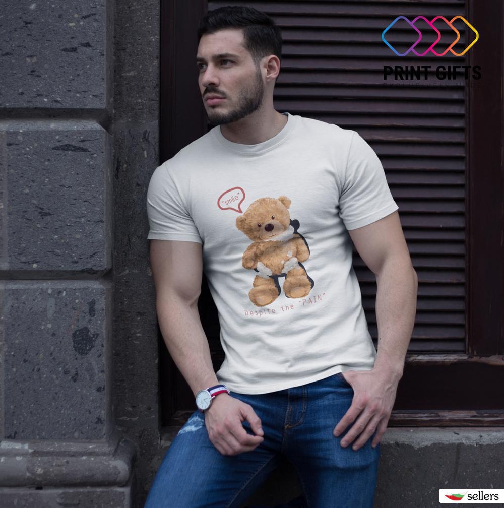Мъжка тениска Despite the pain