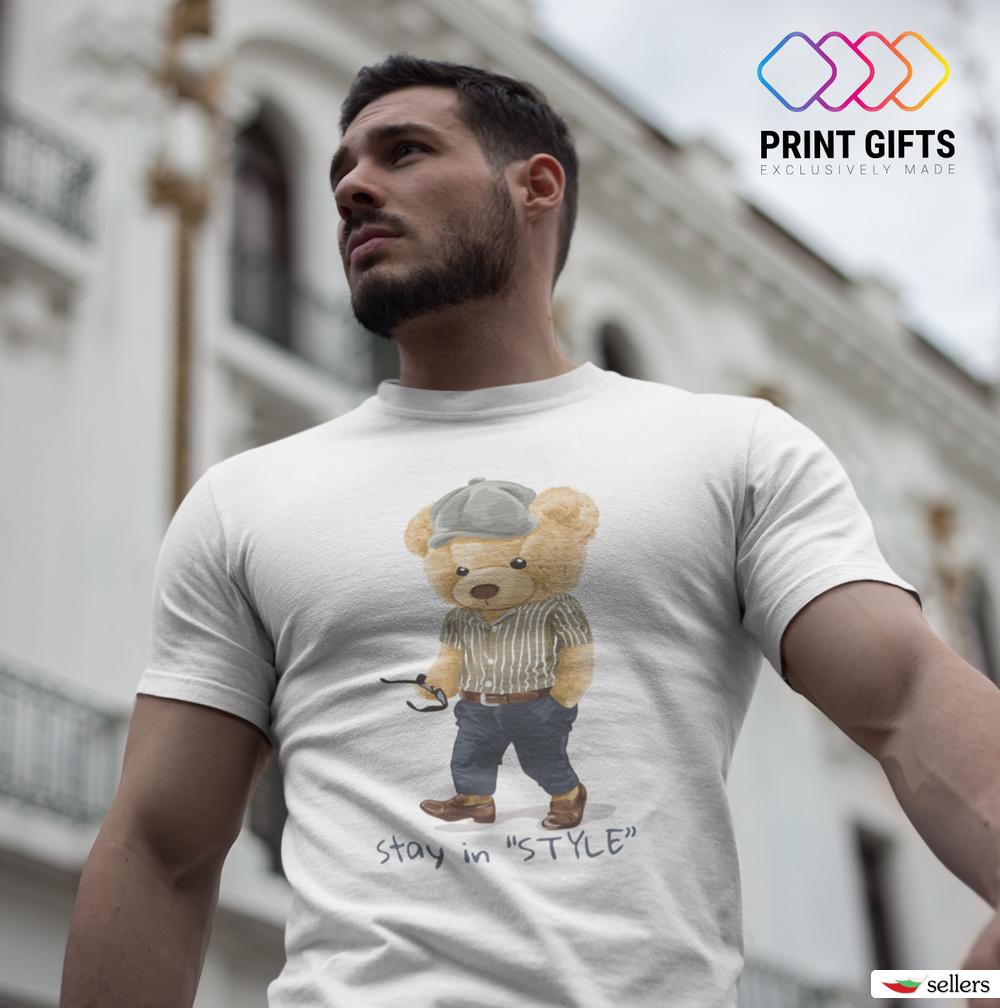 Мъжка тениска Stay in style