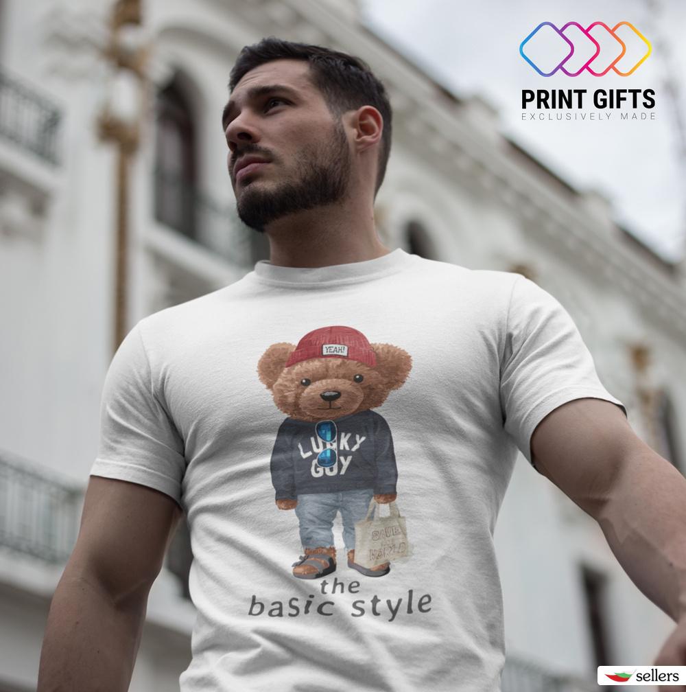 Мъжка тениска The basic style