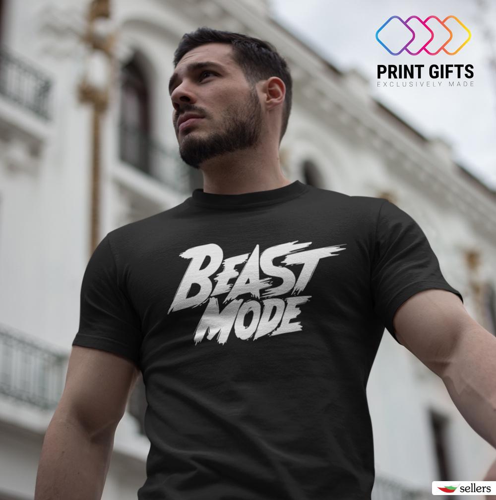 Мъжка тениска Beast Mode