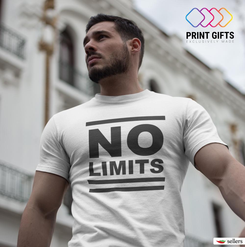 Мъжка тениска No limits
