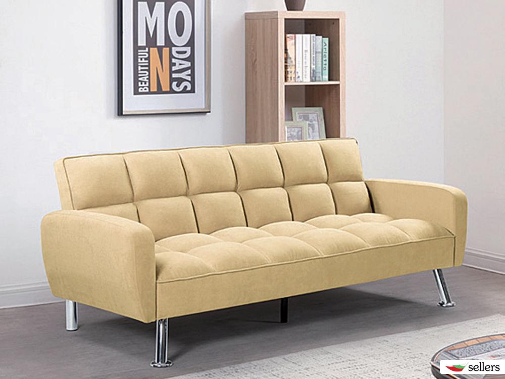 Разтегателен диван PARKAR - бежов или черен