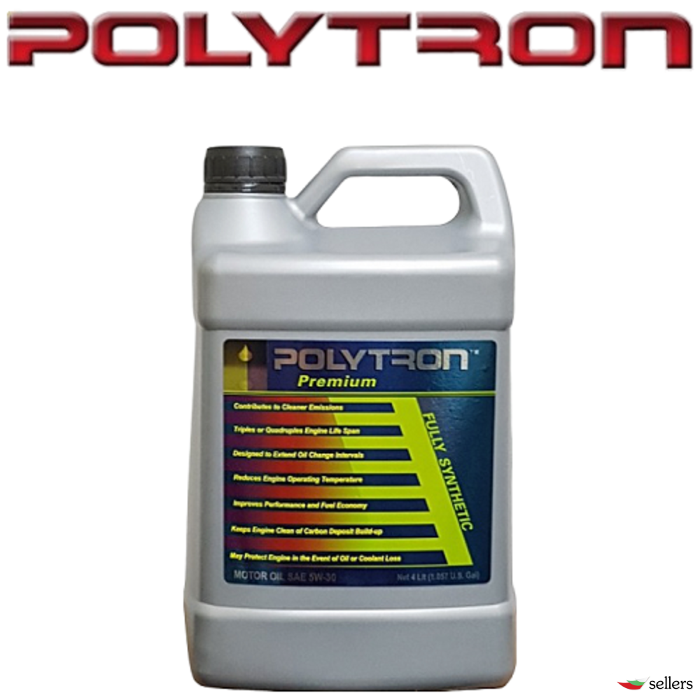 POLYTRON SAE 0W40 - Синтетично моторно масло - 4л. - интервал на смяна 50 000км.