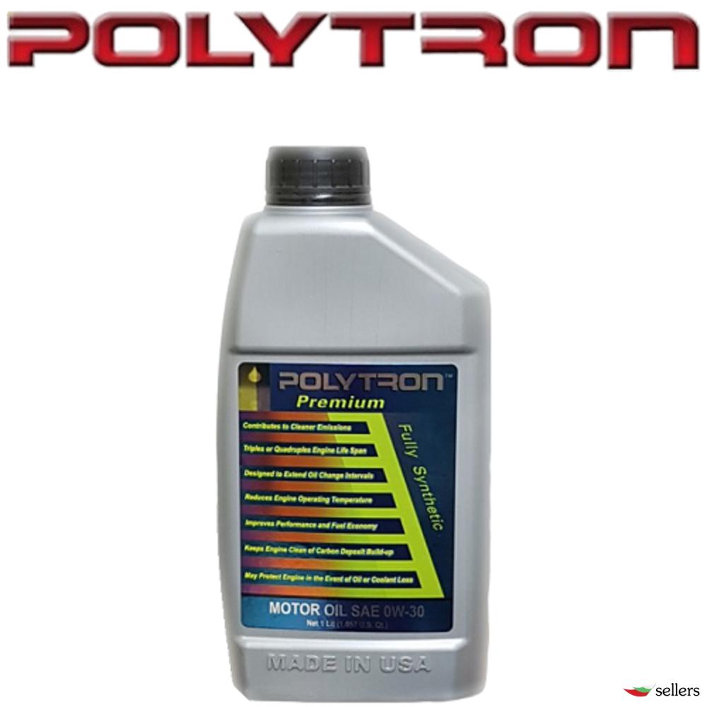 POLYTRON SAE 0W30 - Синтетично моторно масло - 1л. - интервал на смяна 50 000км.