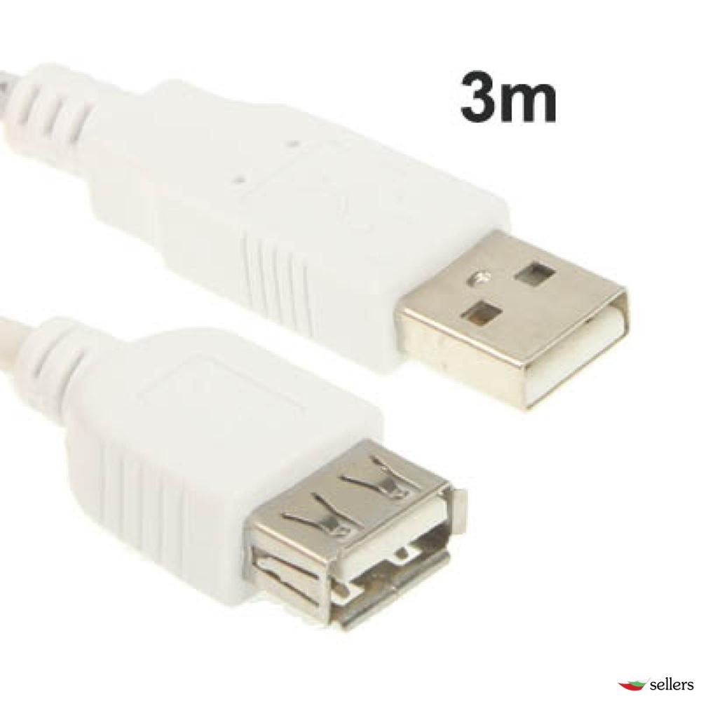 USB AM - AF удължителен кабел / 3m