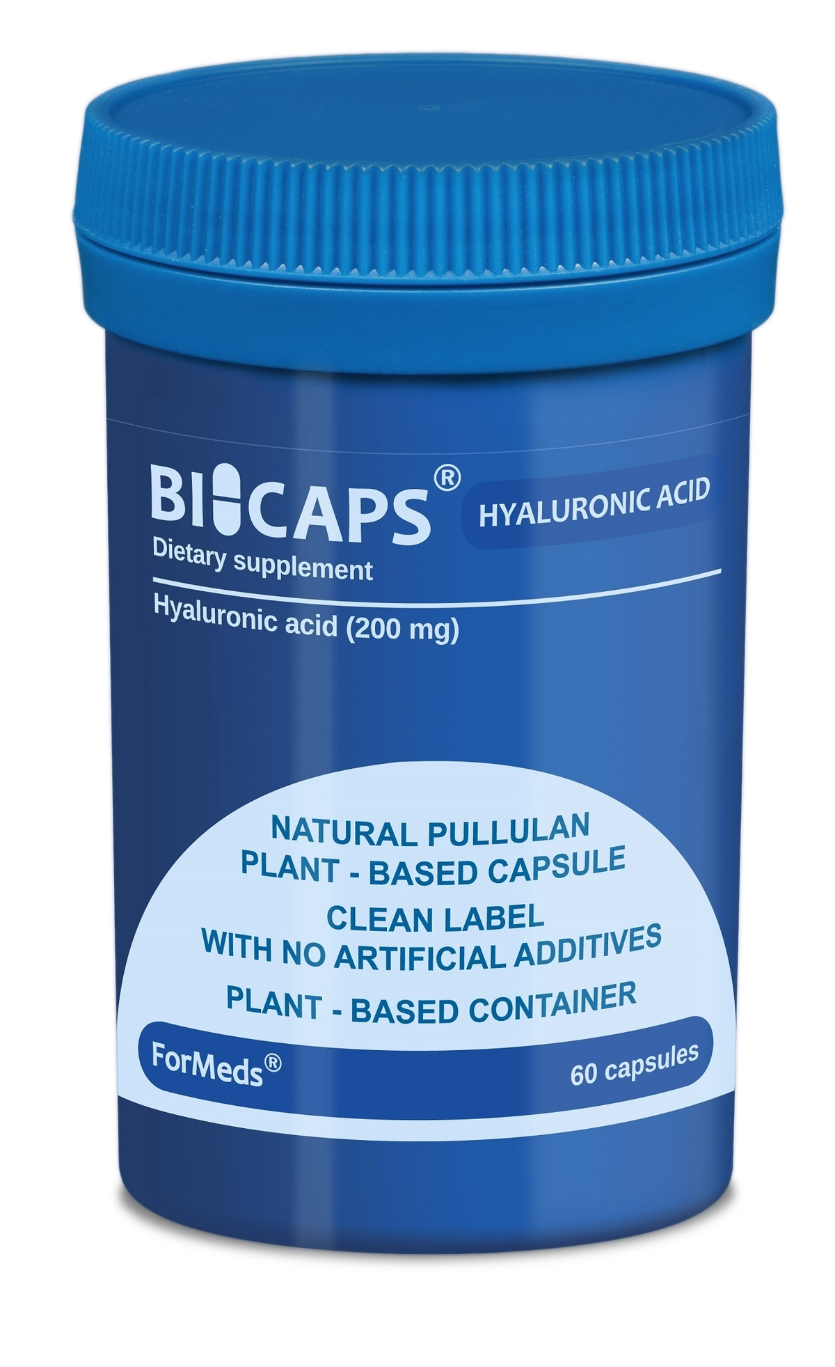 Bicaps Hyaluronic acid (60 капсули)