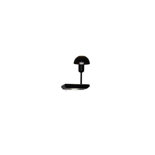 Аплик, HOME LIGHTING, 77-4166, Черен, 1хЕ27, LED 3W