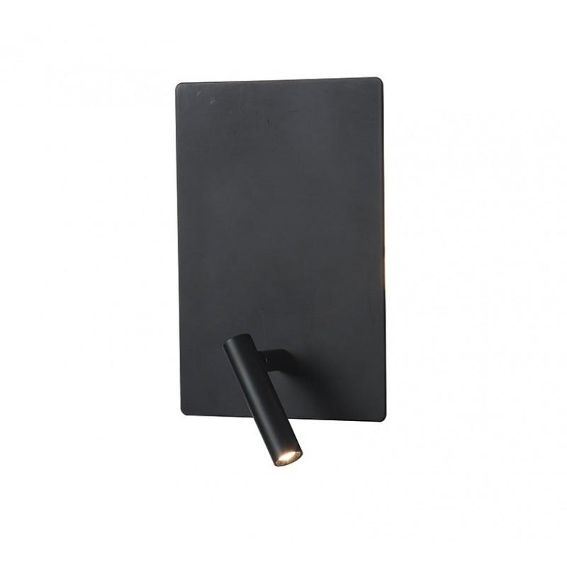 Аплик ZAMBELIS H-41, Черен, LED 1x3W + 1x5W, 240Lm, 3000K