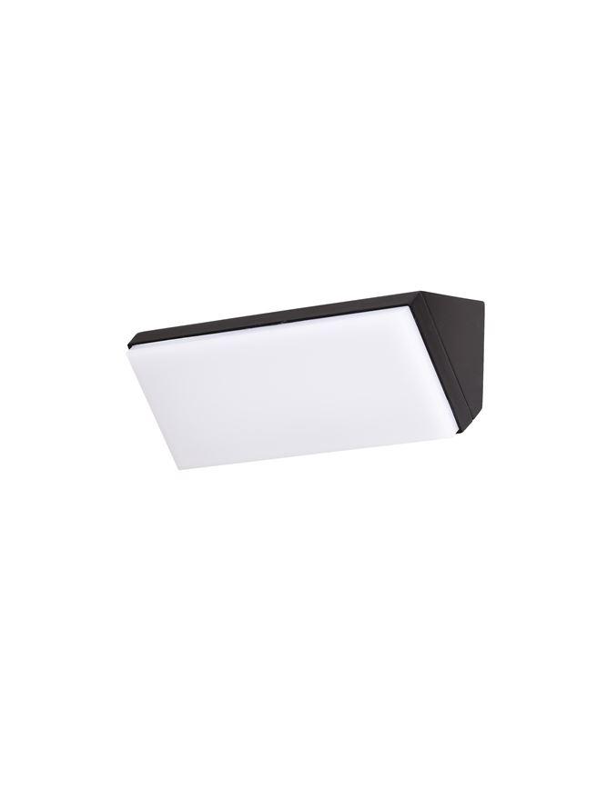 Аплик NOVA LUCE 9270027, Черен, LED 12W, 1080Lm, 3000K, IP65