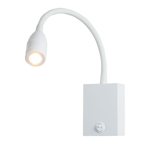 Аплик, ZAMBELIS, H-33, Бял, LED 3W, 240Lm, 3000K