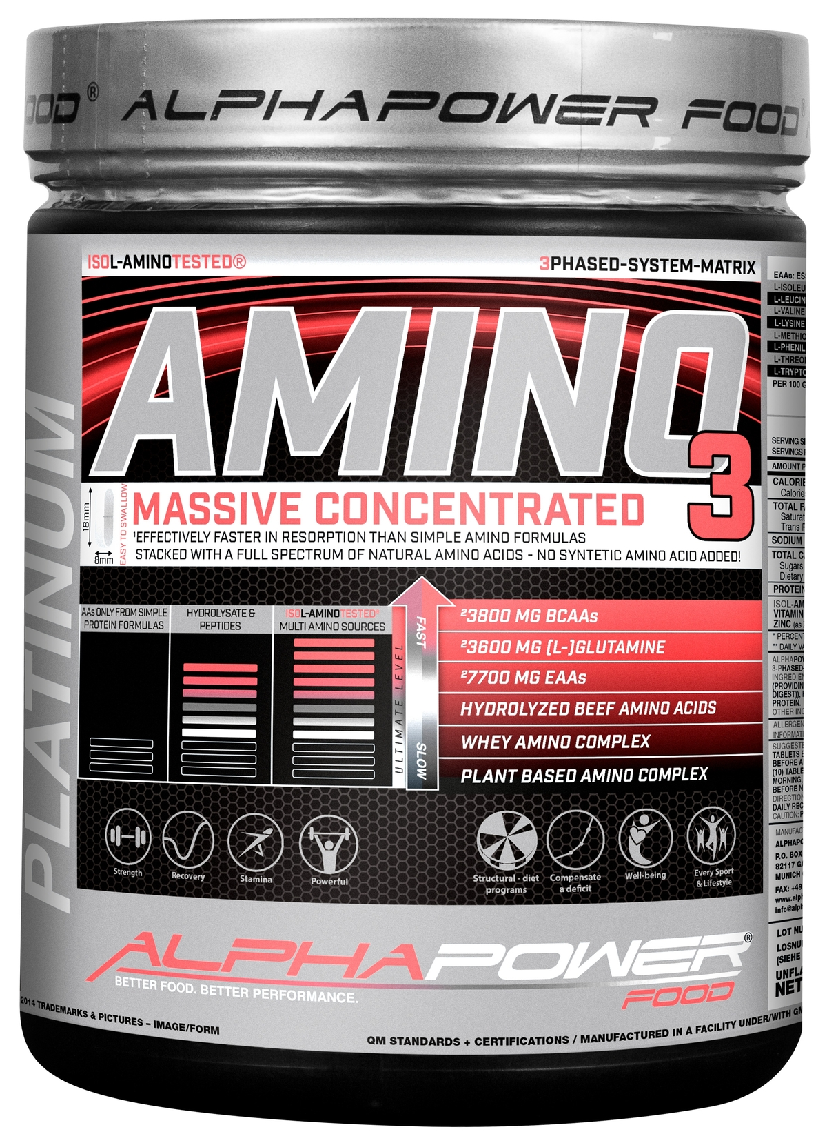 Amino 100% Massive (1000 таблетки)