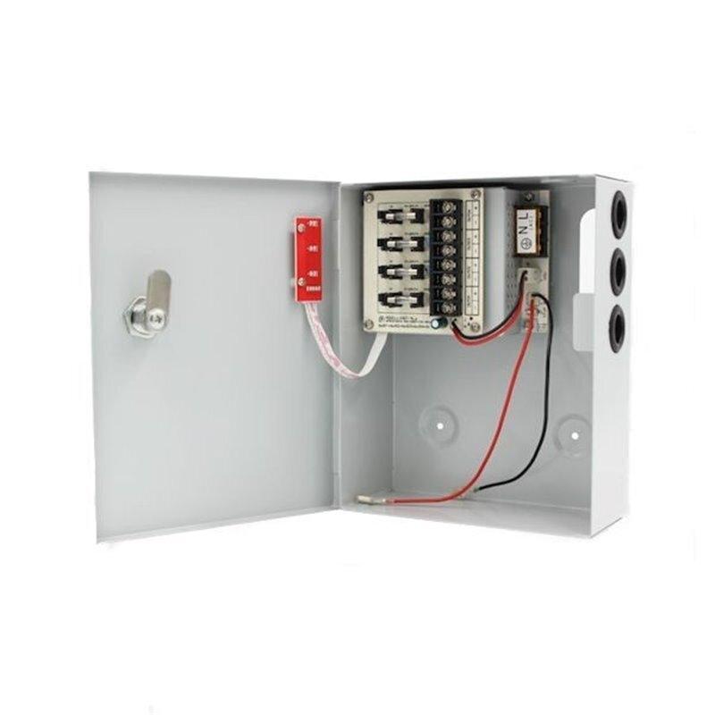 Power supply 12V - 3A  / захранващ блок в метална кутия