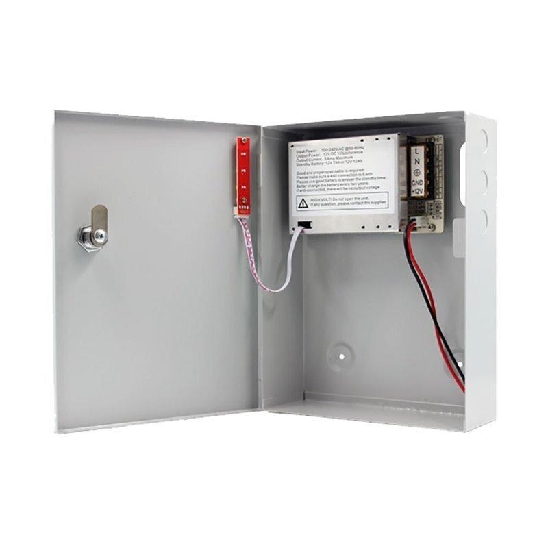 Power supply 12V, 5A / захранване в метална кутия