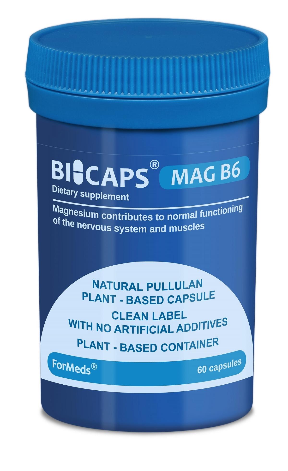 Bicaps Mag B6 (60 капсули)