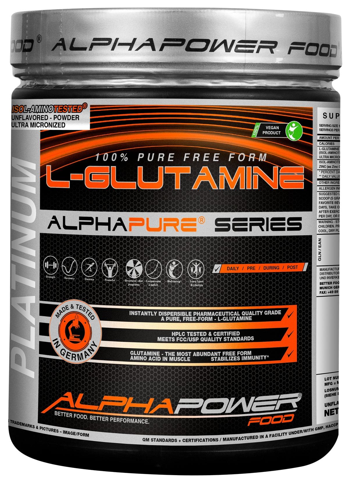 100% Pure L-Glutamine (1000 гр.)