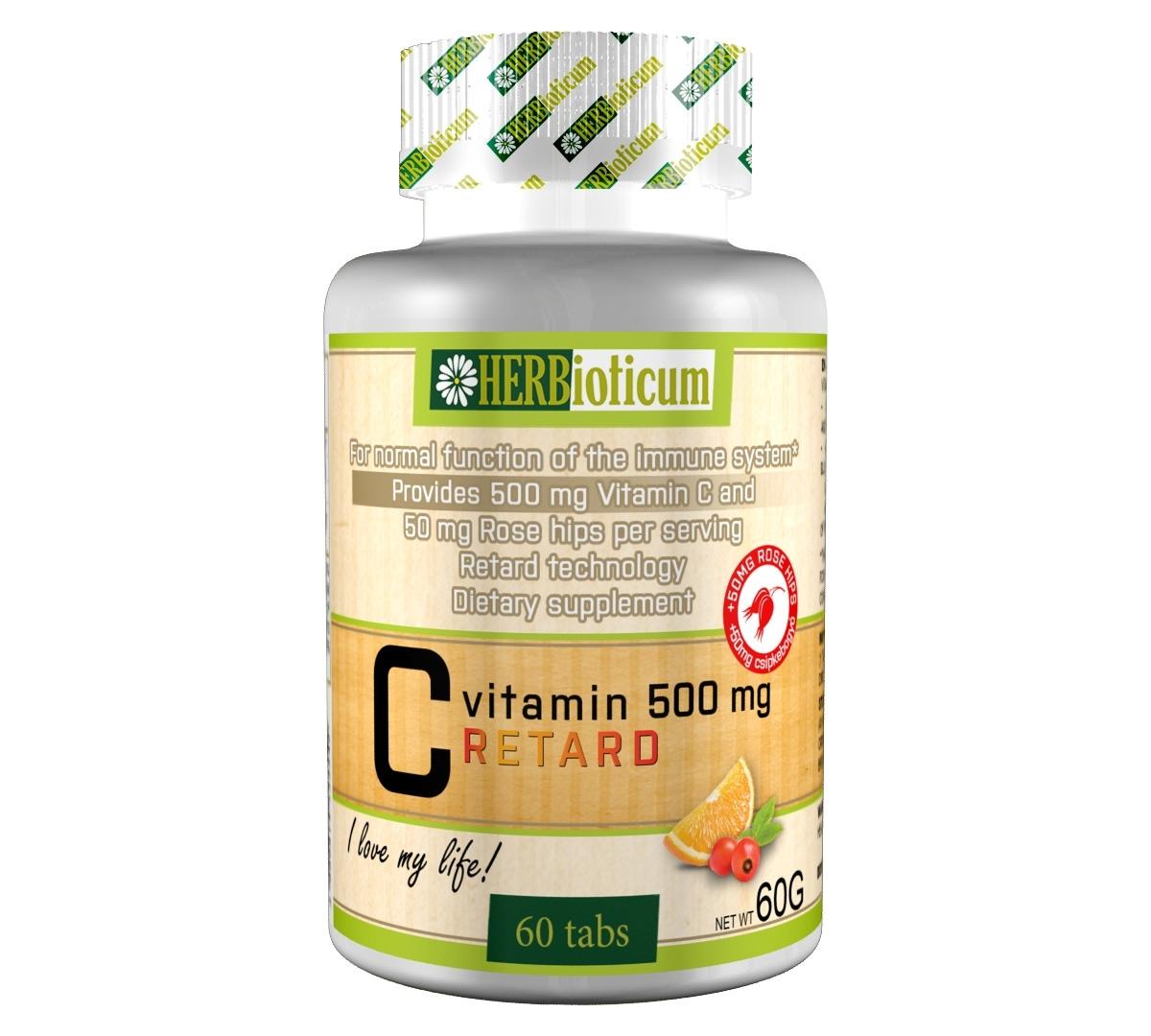C-VITAMIN 500 mg RETARD (60 таблетки)