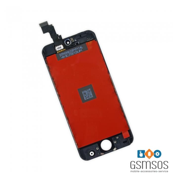 LCD Дисплей за iPhone 5C с тъч скрийн Черен
