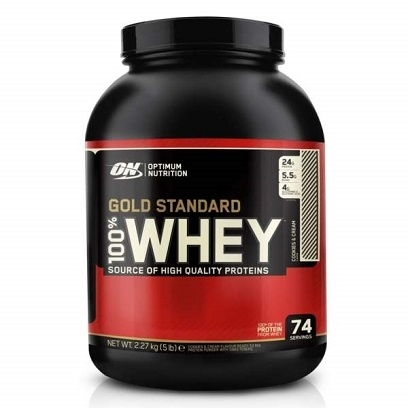 OPTIMUM NUTRITION GOLD STANDARD 100% WHEY (2270 гр.)