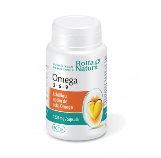 Omega 3-6-9 (30 капсули)