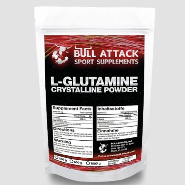 Bull Attack L-глутамин (250 гр.)