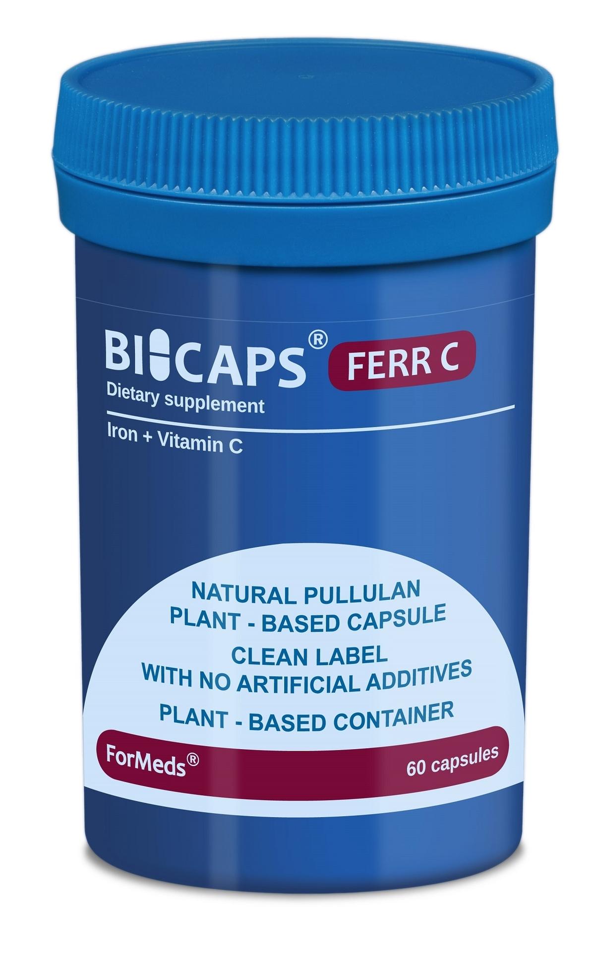 Bicaps Ferr C (60 капсули)