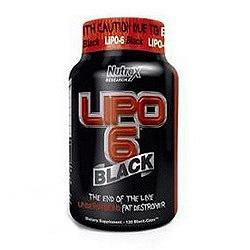 Lipo 6 BLACK (120 капсули)