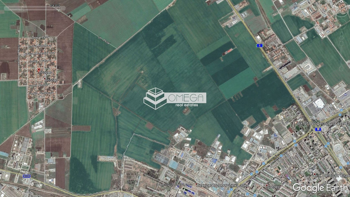 Парцел в Бургас, Промишлена зона - Север за 18 000, Евро