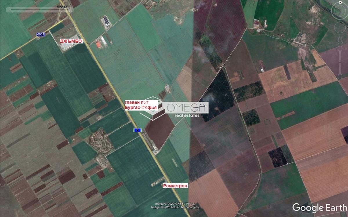 Парцел в Бургас, Промишлена зона - Север за 459 000, Евро