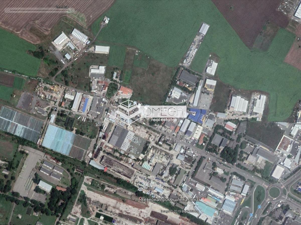 Парцел в Бургас, Промишлена зона - Север за 90 000, Евро