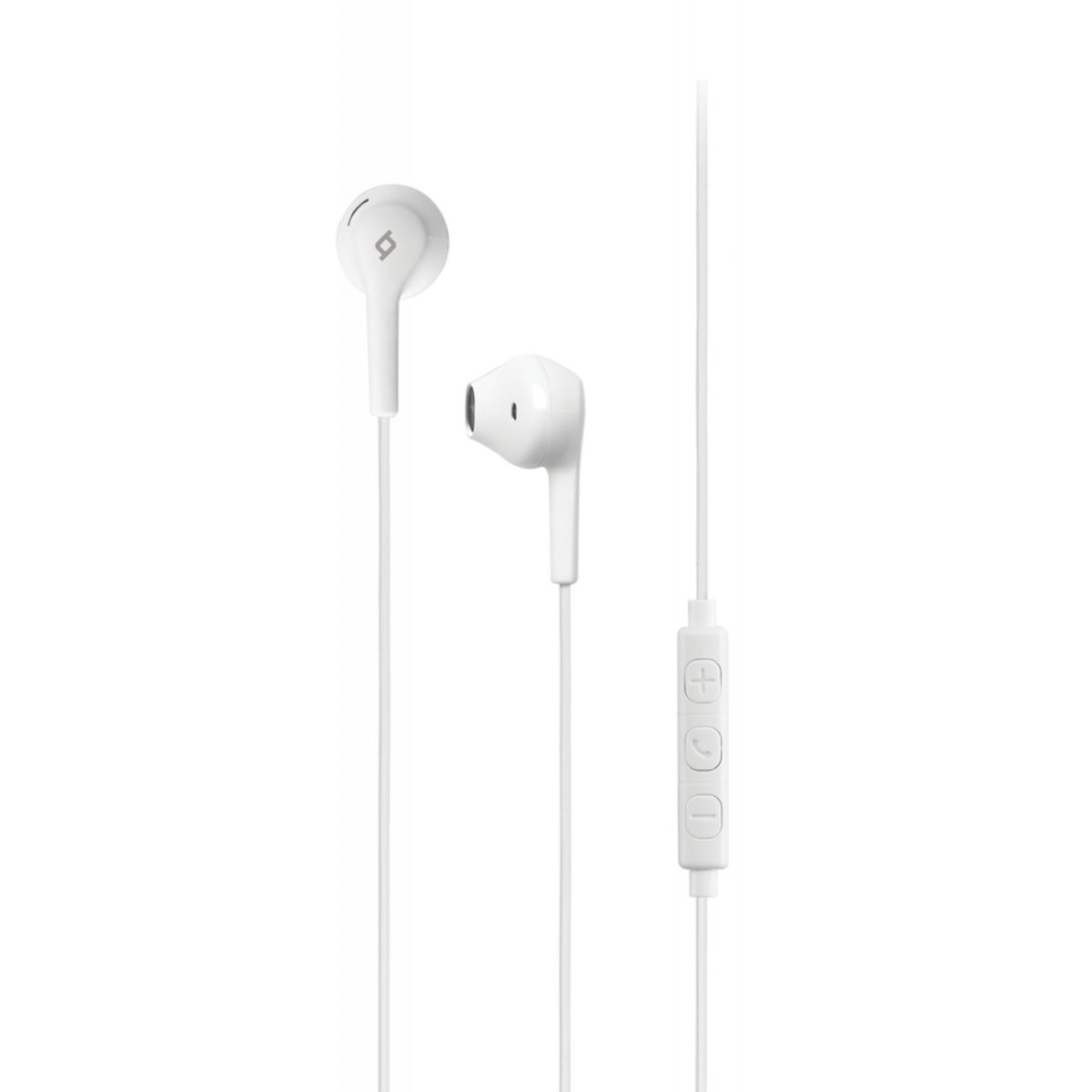 Слушалки RIO In-Ear Headphones with Built-in remote control - Бели, 117952