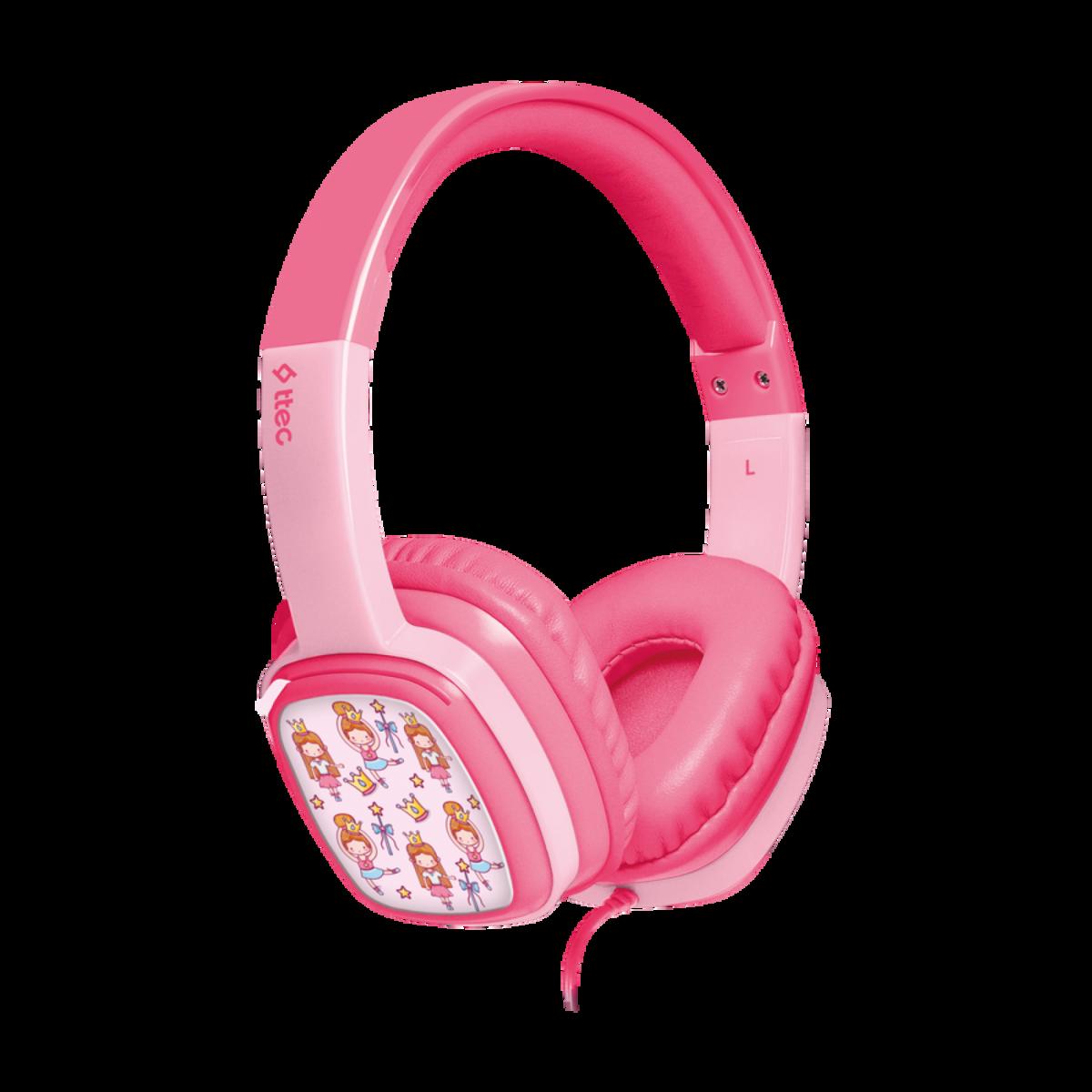 Слушалки ttec SoundBuddy  Kids On-Ear Wired Headphones - Розови