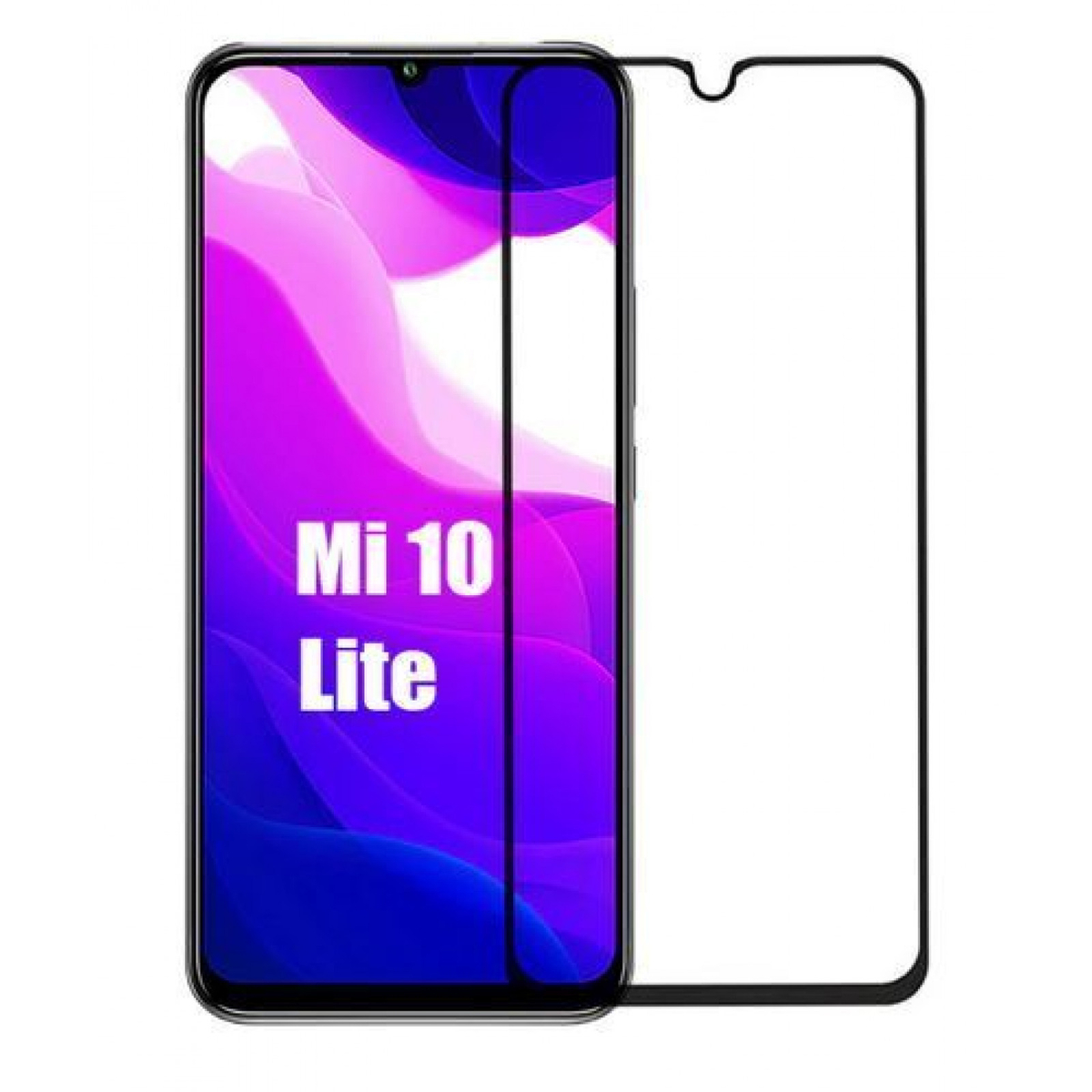 Стъклен протектор OEM за Xiaomi Mi 10T Lite|Mi 10T|Mi 10T Pro 5D Черен