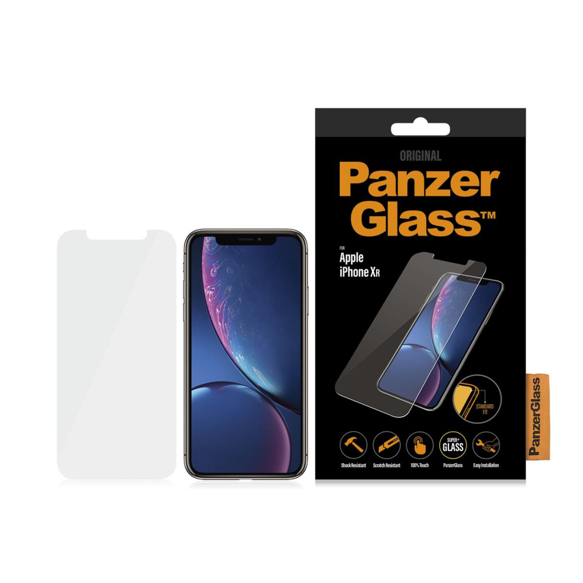 Стъклен протектор PanzerGlass за Apple iPhone 11/iPhone XR  Прозрачен
