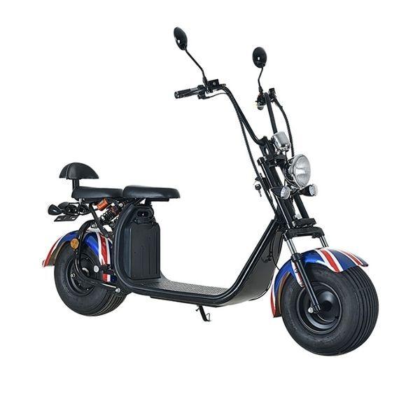 Електрически двуколесен скутер Citycoco тип Харлей  МL20-013 60V 12A 1500W
