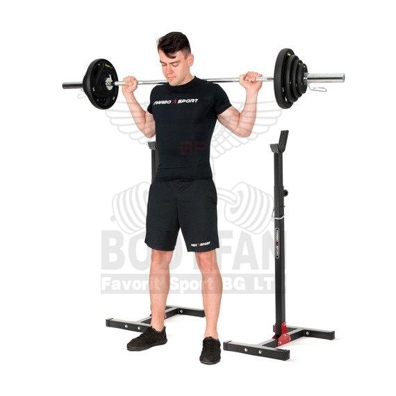 Регулируеми стойки за упражнения