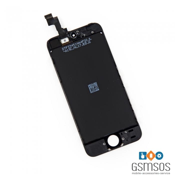 LCD Дисплей за iPhone 5S/ SE с тъч скрийн Черен