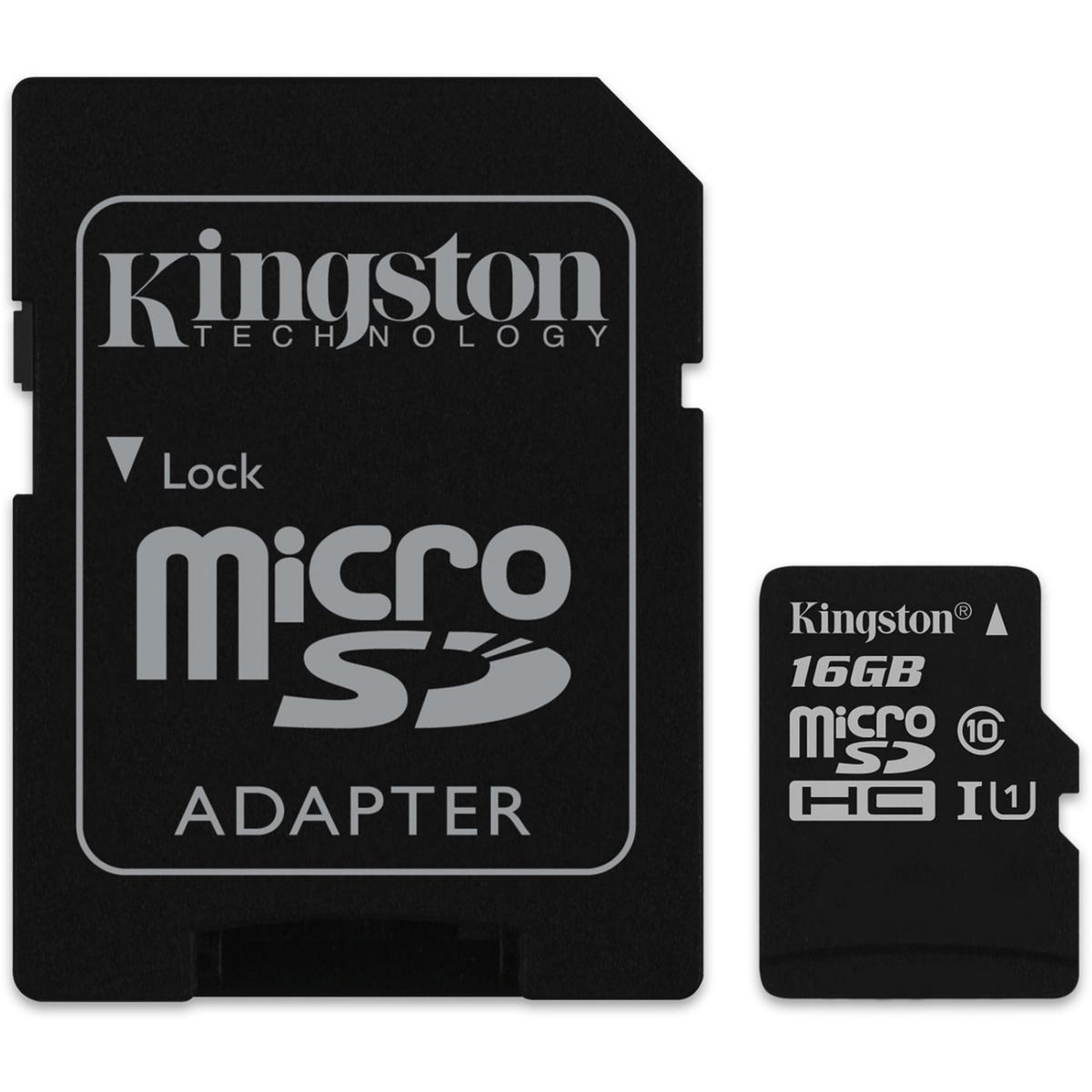 Мемори карта Kingston Ultra SDCS/16GBSP с адаптер