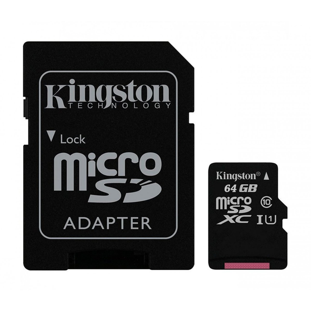 Мемори карта Kingston Ultra SDCS/64GBSP с адаптер